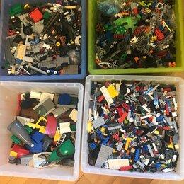 Конструкторы - Ящики c Lego россыпью (оригинал), 0
