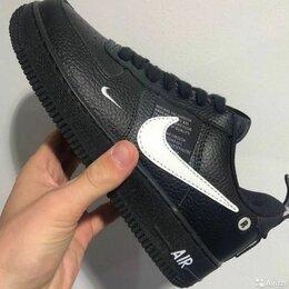 Кроссовки и кеды - Кроссовки Nike Air Force 1 Black, 0