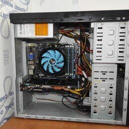 Настольные компьютеры - Компьютер 4 ядра/ш потоков gtx960 на 4gb 12 gb озу, 0