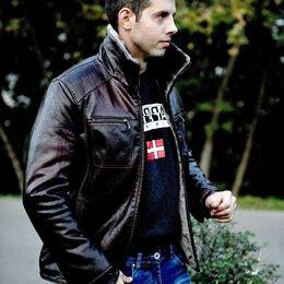 Куртки - Куртка мужская кожзаменитель зима, 0
