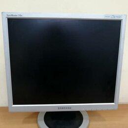 """Мониторы - Монитор ЖК 17"""" 5:4 Samsung 710N серебристый, 0"""