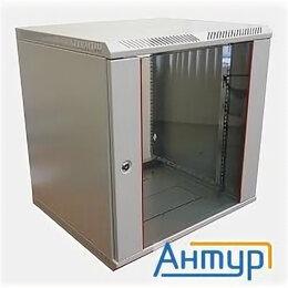 Шкафы для документов - ЦМО! Шкаф телеком. настенный разборный 12u (600х650) дверь стекло (ШРН-Э-12.650), 0