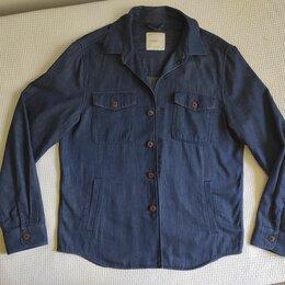 Рубашки - Верхняя хлопковая рубашка мужская Mango, 0