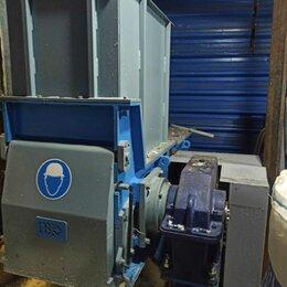 Производственно-техническое оборудование - шредер одновальный для пластика , 0