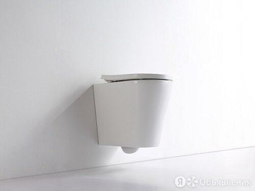 Унитаз подвесной безободковый CeramaLux NS-5178 с сиденьем Soft Close (микрол... по цене 13600₽ - Унитазы, писсуары, биде, фото 0