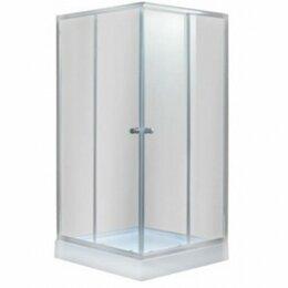 Души и душевые кабины - душ. ограждение квадрат umbria slt-80 m, 0