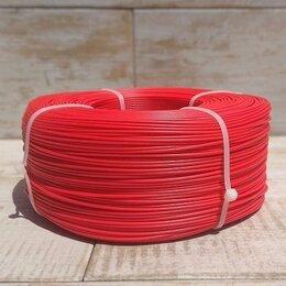 Расходные материалы для 3D печати - PETG пруток 1.75 мм красный, бухта 750р, 0