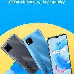 Мобильные телефоны - Realme C11 чёрный 2021 глобальных Русская версия  32GB  NFC, 0