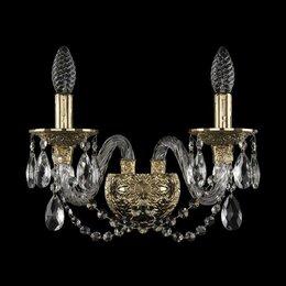 Бра и настенные светильники - Бра Bohemia Ivele 16102B/2/165 G, 0