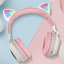 Наушники и Bluetooth-гарнитуры - Беспроводные наушники детские-cat ear, 0