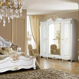 Кровати - Спальня Джоконда крем глянец Диа мебель, 0