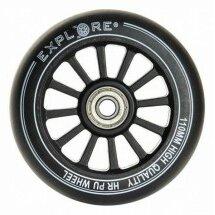 Самокаты - Колеса для трюкового самоката, пластиковая ступица 110мм, 0