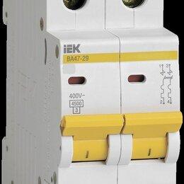 Аксессуары и запчасти - Выключатель автоматический ВА47-29 2Р 10А (С) ИЭК, 0