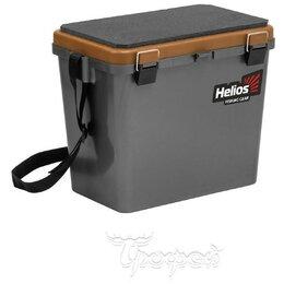 Сумки и ящики - Ящик рыболовный зимний Helios односекционный 19л с, 0