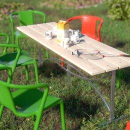 Столы - Стол садовый Агросфера, Сухая обрезная доска, 0