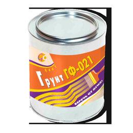 Краски - Грунт ГФ-021 красно-кор; серый (2,5 кг.), 0