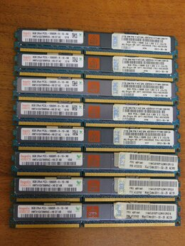 Модули памяти - Серверная DDR3 8/16/32Gb ECC REG 72шт, 0