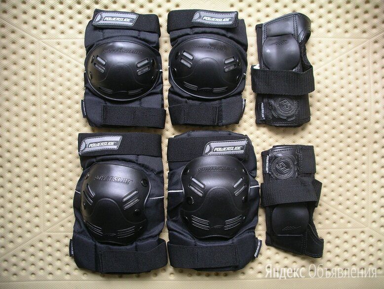 Комплект защиты для мужчин Powerslide Standard Men Tri-Pack по цене 1500₽ - Спортивная защита, фото 0
