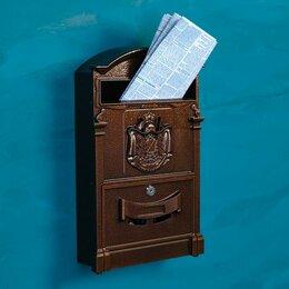 Почтовые ящики - Ящик почтовый 4010, медь, 0