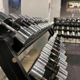 Гантели - Гантельный ряд, гантели 139,5 кг. Изгот. и др.вес, 0