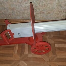 Игрушечное оружие и бластеры - Советская игрушка пулемет максим, 0