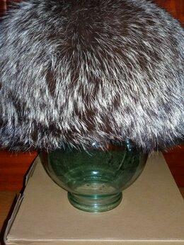 Головные уборы - Шапка из чернобурки 58-59 размер, 0