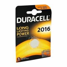 Батарейки - Батарейки Duracell CR2016 1шт, 0