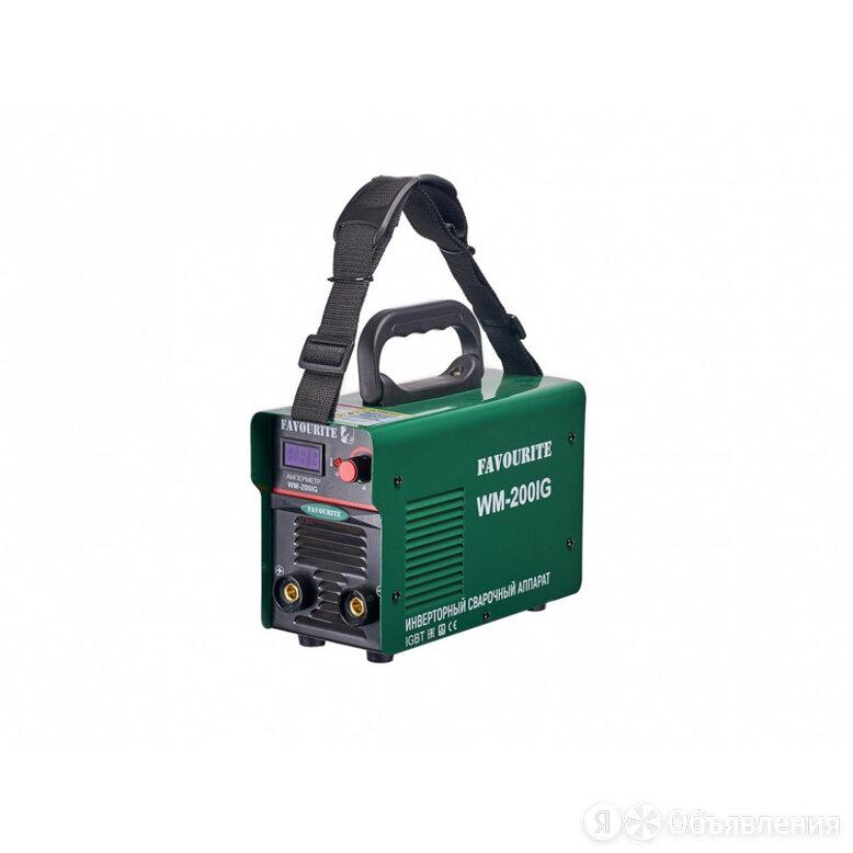 Инверторный сварочный аппарат FAVOURITE WM-200IG по цене 4399₽ - Сварочные аппараты, фото 0