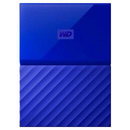 """Внешние жесткие диски и SSD - Внешний Жесткий диск 2,5"""" 1TB WD BLUE WDBBEX0010BBLEEUE USB 3.0, 0"""