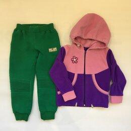 Комплекты - Вещи утепленные:2е штанов кофта 86/92, 0