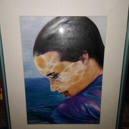 Картины, постеры, гобелены, панно - Картина морская девушка, 0