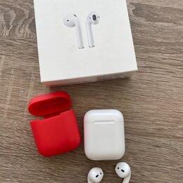 Наушники и Bluetooth-гарнитуры - Наушники Apple Airpods оригинал , 0