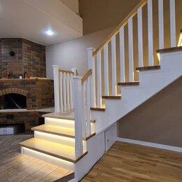 Интерьерная подсветка - Умная подсветка, освещение лестницы в частном доме, 0