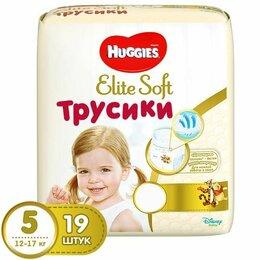 Подгузники - HUGGIES Elite Soft Трусики 5 12-17 кг, 0