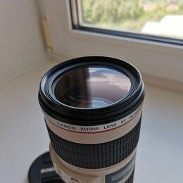 Объективы - canon eos 70- 200 f/4 is usm, 0
