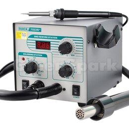 Электрические паяльники - Термовоздушная паяльная станция QUICK 706W+, 0