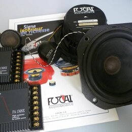 Автоэлектроника и комплектующие - Автомобильная акустика Focal 136NX (13 см), 0