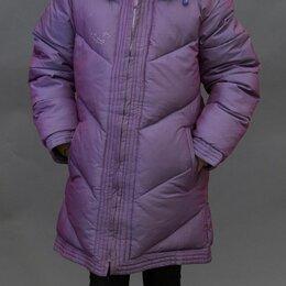 Куртки и пуховики - Пальто зимнее для девочки на 140см, 0