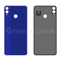 Корпусные детали - Задняя крышка для Huawei Honor 8X (синий), 0