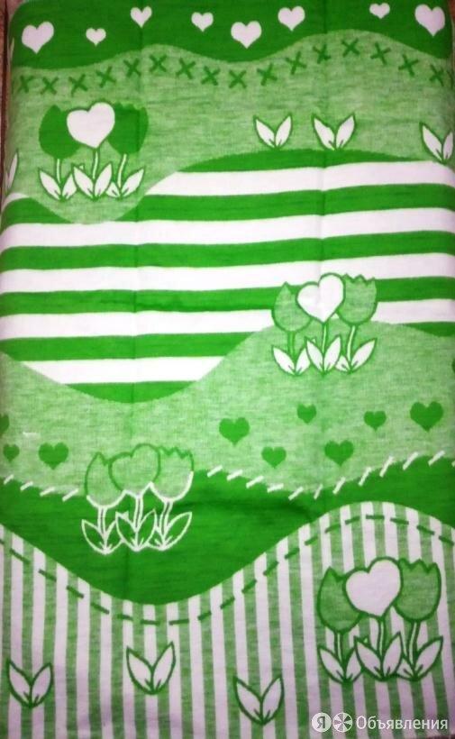 """Одеяло байковое 57-8ЕТЖ """"Цветочный луг"""", 100% хл. 140х100 по цене 695₽ - Постельное белье, фото 0"""