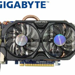 Видеокарты - Игровая видеокарта gigabyte GTX 750 Ti 2 Гб gddr5, 0