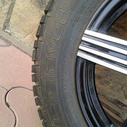 Шины, диски и комплектующие - Колёса автомобильные в сборке литые диски и шипованная резина  , 0