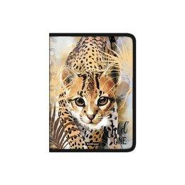 Обложки для документов - ErichKrause Папка для тетрадей и труда, 1 отделение, А4, ErichKrause Wild Cat..., 0