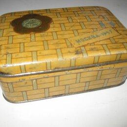 Другое - Коробка. Жесть. Москва 1957 г., 0