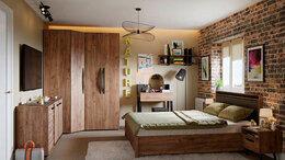 Кровати - Спальня NATURE. Комплект 3, 0