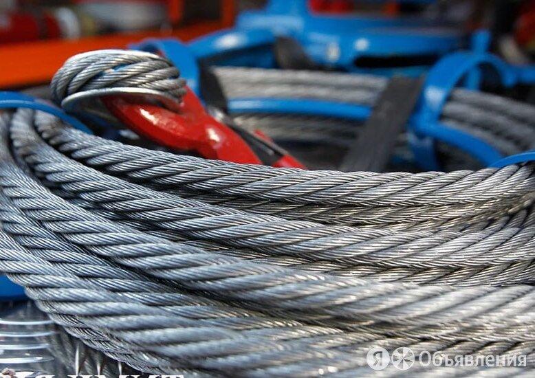 Канат стальной 21 мм ГОСТ 7669-80 по цене 121₽ - Металлопрокат, фото 0