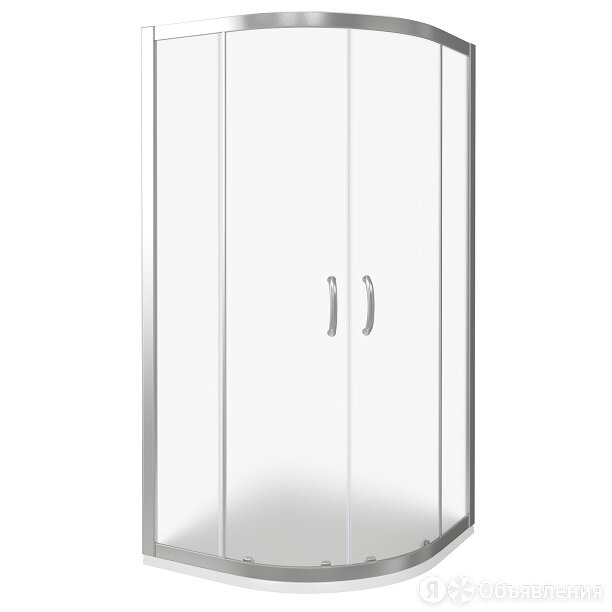 Уголок душевой GOOD DOOR BAS INFINITY R-80-G-CH (80х80) полукруглый, раздвиж.... по цене 29140₽ - Души и душевые кабины, фото 0