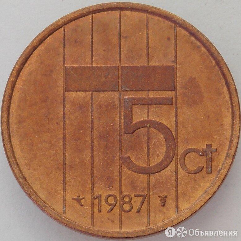 Нидерланды 5 центов 1987 КМ202 XF+ (J05.19) арт. 17028 по цене 45₽ - Монеты, фото 0