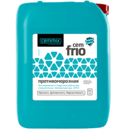 Прочее - Добавка противоморозная CEMMIX CEMFRIO 5 л , 0