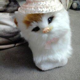 Мягкие игрушки - Кошечка в шляпке игрушка, 0